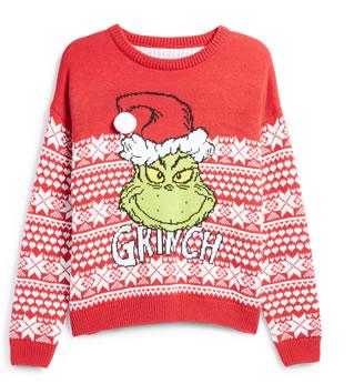 Primark Women's Grinch Christmas Jumper £8