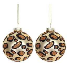 Amara Leopard Print Bauble