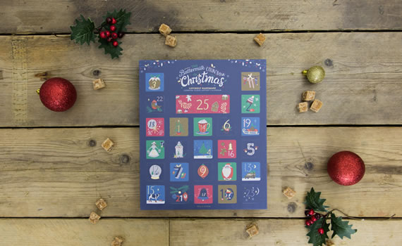 Buttermilk Countdown To Christmas Advent Calendar