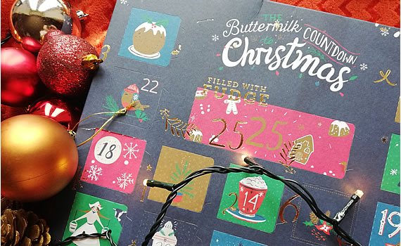 Buttermilk Fudge Advent Calendar