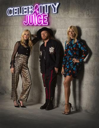 ITV2 Celebrity Juice 2018 Christmas Special