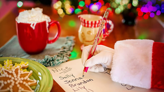 Christmas guest list