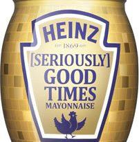 Heinz [Seriously] Good Mayonnaise Disco Ball Jars