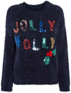 Jolly Holly Christmas Jumper 2018