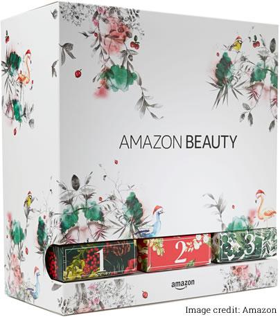 Image of Amazon beauty advent calendar 2018