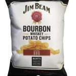 Celebrate the festive season with Burts Chips Jim Beam BBQ flavoured crisps