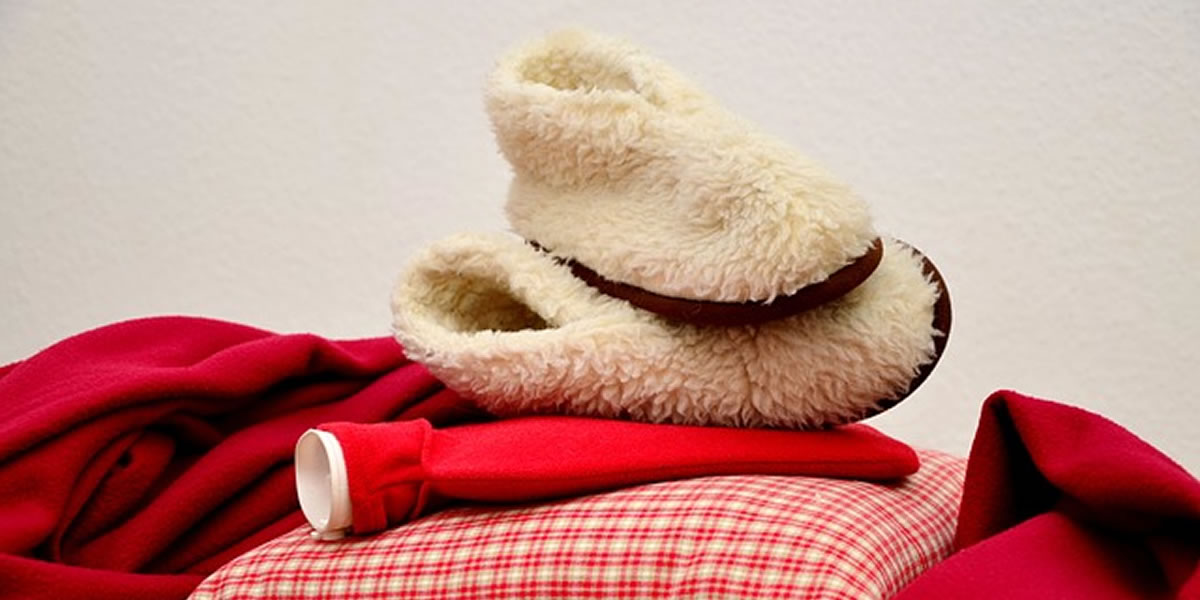 Image of Christmas throws and blankets