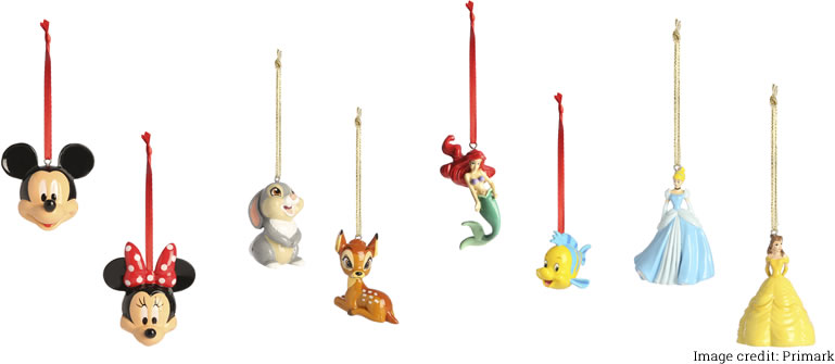 Image of Disney baubles