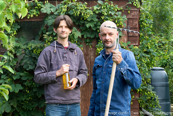 Image of Two Thirsty Gardeners