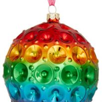 John Lewis And Partners Rainbow Bauble