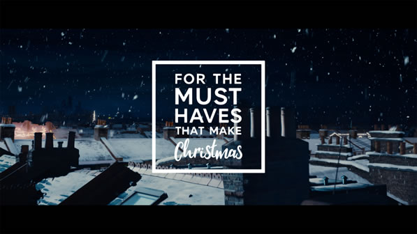 Marks And Spencer 'Must-Haves' Christmas Advert 2018
