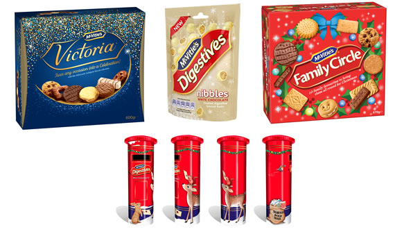 McVitie's Christmas 2018 Biscuits