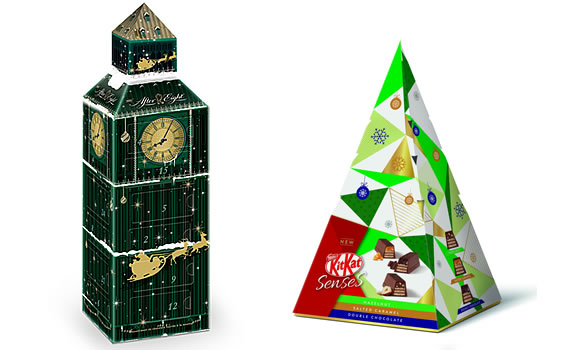 Nestlé After Eight Advent Calendar and KITKAT Senses - Christmas 2018