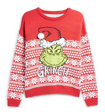 Primark Christmas Jumpers 2018 - The Grinch