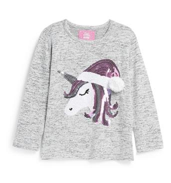 Primark Christmas Jumpers 2018 -Unicorn with Santa Hat