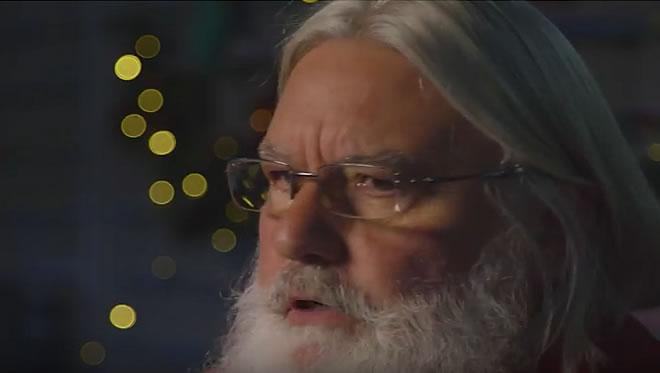 Santa talking to Royal Mail