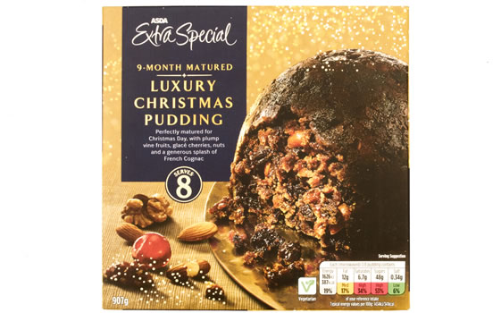 Christmas Pudding Winner: Asda Extra special 9 month matured luxury Christmas Pudding 907g