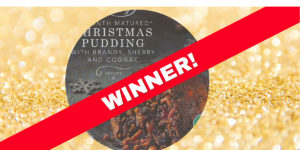 Christmas taste test Christmas pudding winner