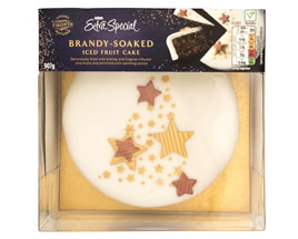 ASDA Extra Special Brandy-Soaked Iced Fruit Cake