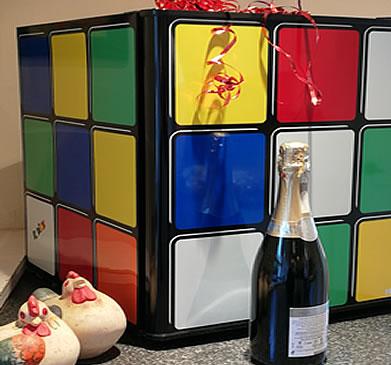 Husky Rubiks Cube Mini Fridge Cooler