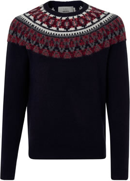 Mens Christmas jumper 2018: M&S COLLECTION JUMPER