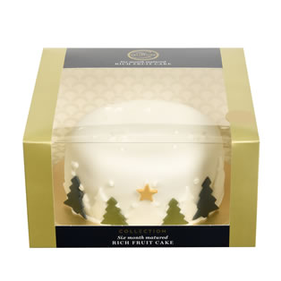 Marks & Spencers Collection Six Month Matured Rich Fruit Cake