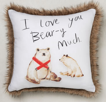 Next Beary Christmas Cushion £16