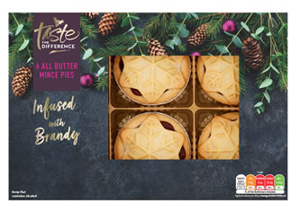 Sainsbury's All Butter Mince Pies, Taste the Difference