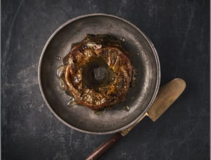 Sainsbury's Taste the Difference Brioche, Orange & Almond Christmas Pudding Wreath