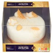 Sainsbury's Taste the Difference Falling Leaves Christmas Fruit Cake