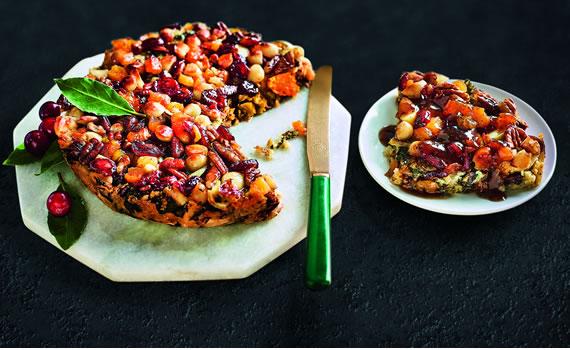 Vegan Butternut, Almond and Pecan Nut Roast