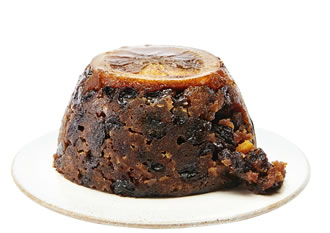 Waitrose & Partners Christmas Fig & Orange Liqueur Pudding