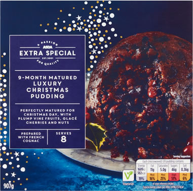 ASDA Extra Special Christmas Pudding