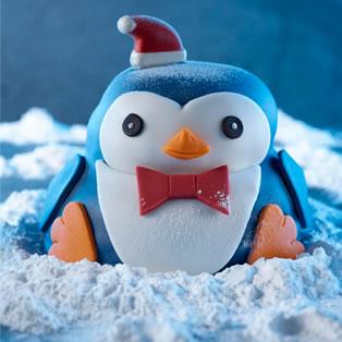 ASDA Pip the Penguin Cake