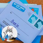Personalized letters from a globetrotting cat & WIN!