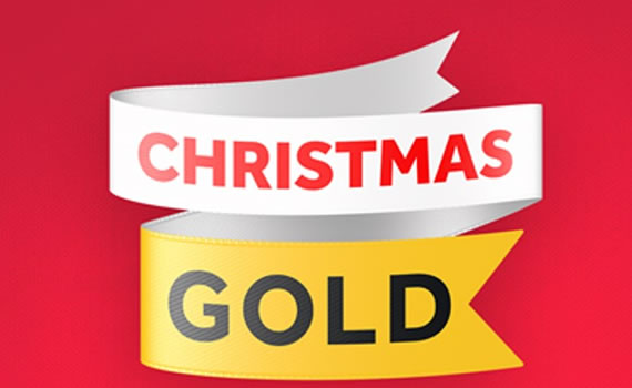 Christmas on Gold