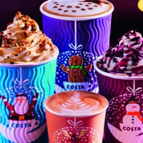 Costa Coffee Christmas cups 2018