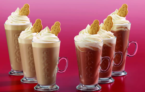 Costa Coffee Gingerbread Drinks 2018