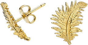 Dower And Hall Gold Earrings