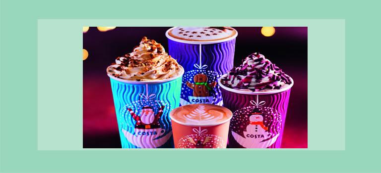 Image of Costa Coffee Christmas range