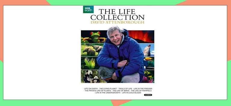 Image of David Attenbourgh DVDs