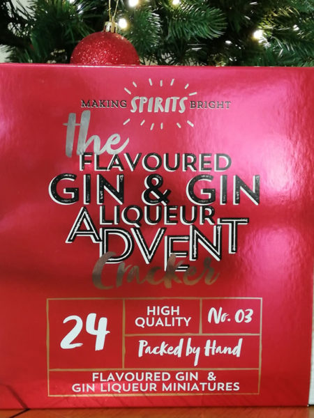 Image of First4Hampers Flavoured Gin Fron Advent Cracker