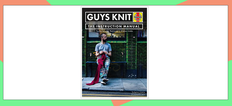 Image of guys knit book