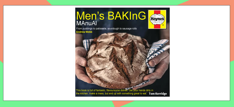 Image of mens baking cookbook