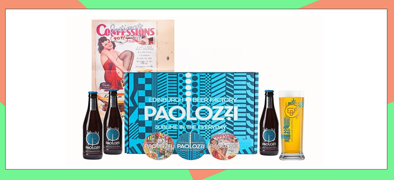 Image of Paolozzi beer set