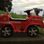 Image of Paw Patrol Truck outside