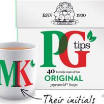 Image of PG Tips Personalised Set