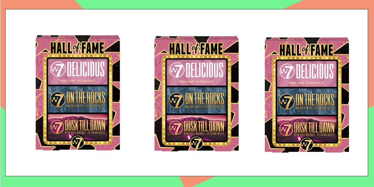 Image of W7 Hall of Fame gift set
