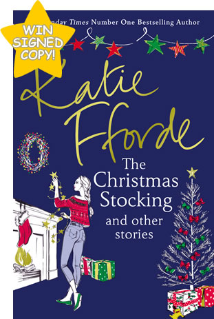 WIN a signed copy of Katie Fforde's The Christmas Stocking and other stories