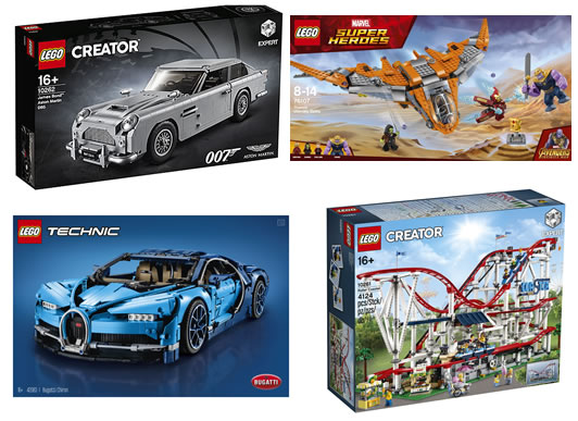 LEGO launch sets for Mum and Dad this Christmas